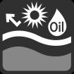 Resistencia a cremas y aceites solares